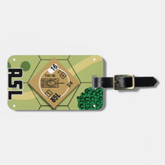 T-34/85 Luggage Tag