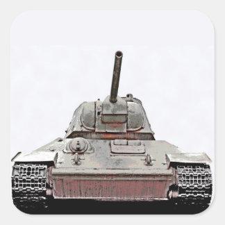 T-34 Russian Tank,Soviet Memorial,Berlin -(sm2d) Stickers