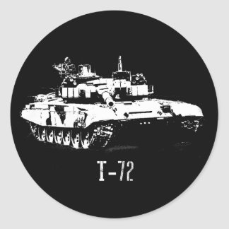 T-72 Russian tank sticker