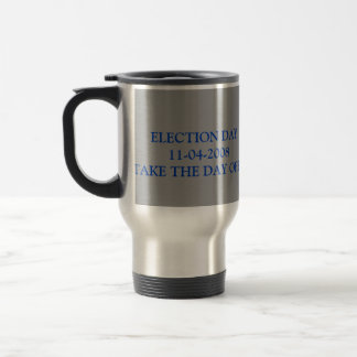 t_ballotbox, images, ELECTION DAY 11-04-2008TAK... Stainless Steel Travel Mug