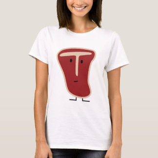 T-bone steak meat protein grilled beef fat bone T-Shirt