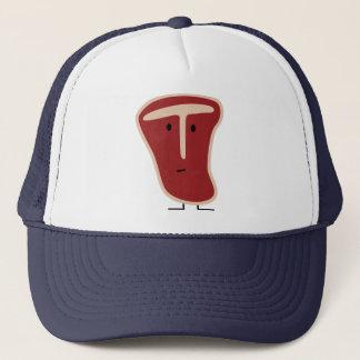 T-bone steak trucker hat