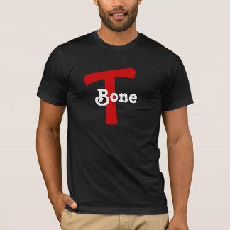 T Bone T-Bone RED MARK DESIGN T-Shirt NICKNAME