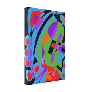 T c canvas print