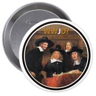 T.Cruz, M. Hickabee, R. Santorum & C. Fiorini 10 Cm Round Badge