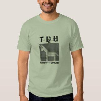 T D H - Borrow Freedom Tee Shirt