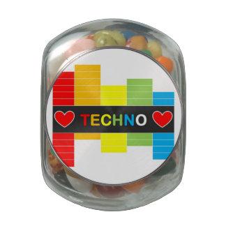 :: T E C H N O :: Glass Jelly Belly™ Glass Jar