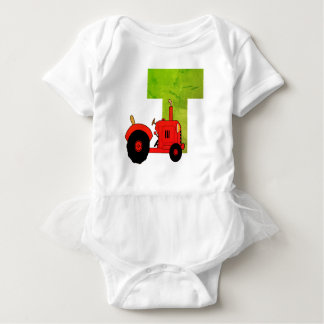 T for tractor bodysuit