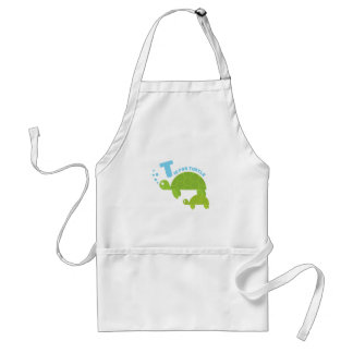 T for Turtle Apron