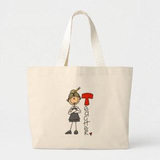 T is for Teacher Jumbo Tote Bag