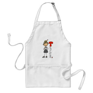 T is for Teacher Standard Apron