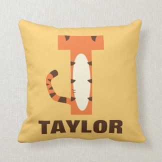 T is for Tigger | Add Your Name Cushion