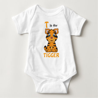 """T is for TIGGER"" Childs Shirt"