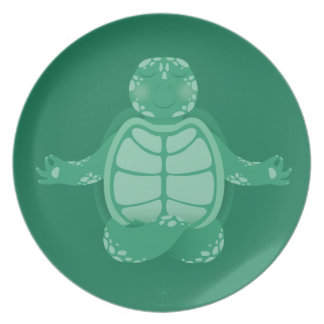 T is for Turtle Dinner Plates
