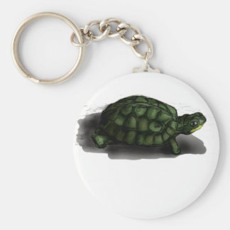 T is for Turtle Key Ring