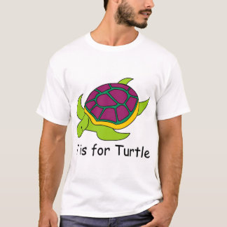 T is for Turtle T-Shirt