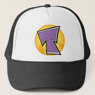 T Logo Trucker Hat
