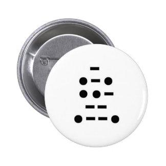 T-R-U-M-P: Distress or Rescue? 6 Cm Round Badge