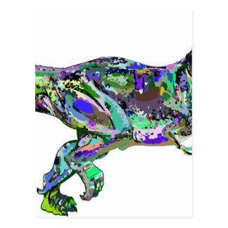 t rex2 postcard