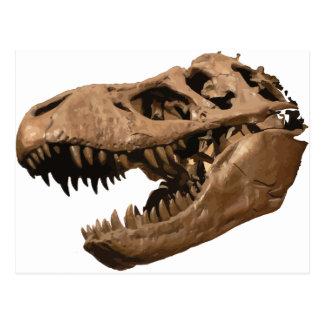 t rex3 postcard