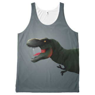 T-Rex All-Over Print Singlet