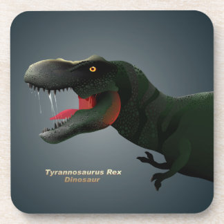 T-Rex Beverage Coasters