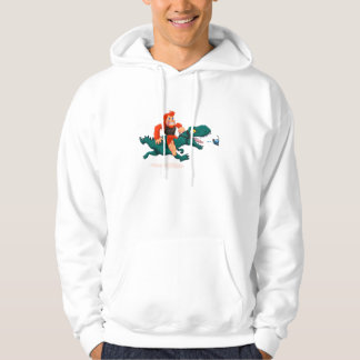 T rex bigfoot-cartoon t rex-cartoon bigfoot hoodie