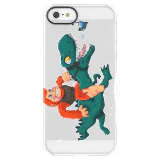 T rex bigfoot-cartoon t rex-cartoon bigfoot permafrost® iPhone SE/5/5s case