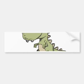 T-Rex Bumper Sticker
