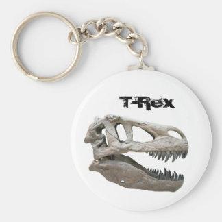 T-Rex, Button Keychain