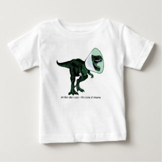 T-Rex Cone of Shame 2 baby T Baby T-Shirt