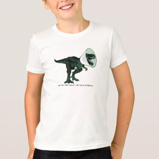T-Rex Cone of Shame 2  kid's T T-Shirt