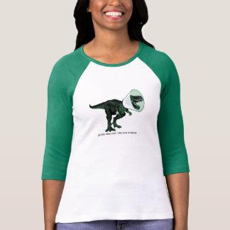 T-Rex Cone of Shame 2  women's baseball T T-Shirt
