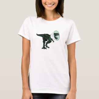 T-Rex Cone of Shame 2 women's T front/back T-Shirt