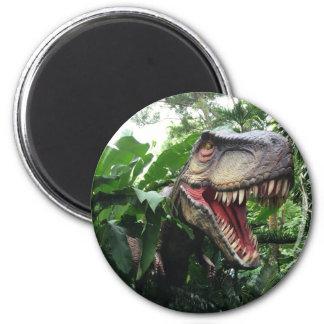 T-Rex Dinosaur in the Wild Magnet