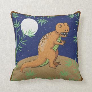 T-Rex Dinosaur Pillow for Kids
