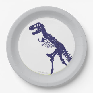 T Rex Dinosaur Plate