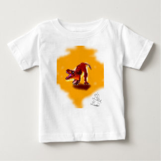 T-Rex dinosaur puppy baby T-shirt