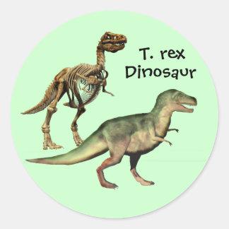 T. rex Dinosaur stickers