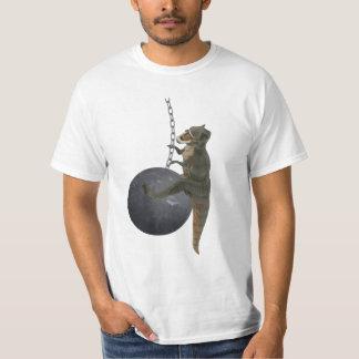 T-Rex Dinosaur Wrecking Ball T-Shirt