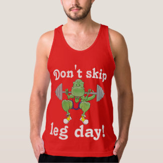 T-Rex. Don't skip leg day! Tanks
