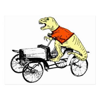 T-Rex Driver Postcard