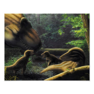 Dinosaurs posters for T rex family