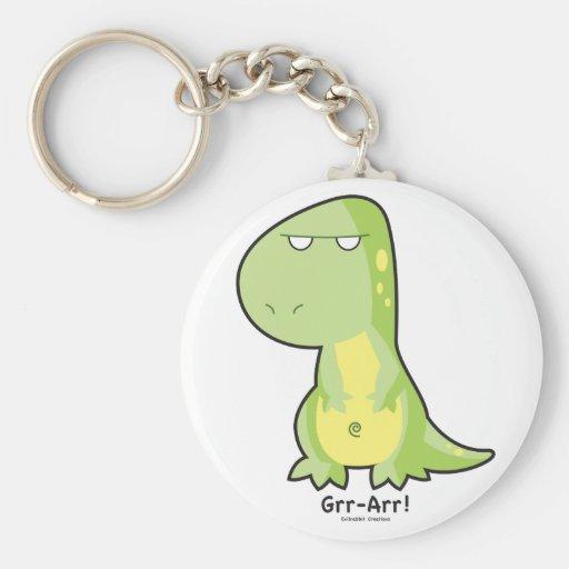 T-Rex Grr Arr Keychain