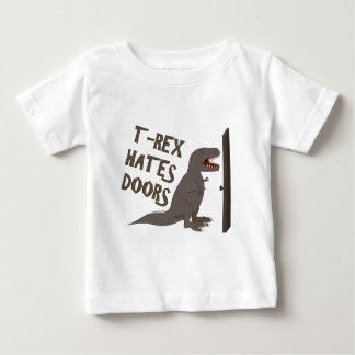 T-Rex Hates Doors Baby T-Shirt