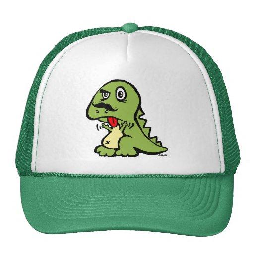 T-rex hates mustache hats