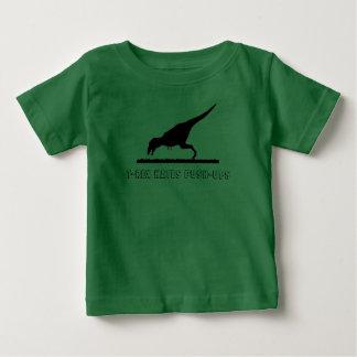 T-Rex Hates Push-ups Baby T-Shirt