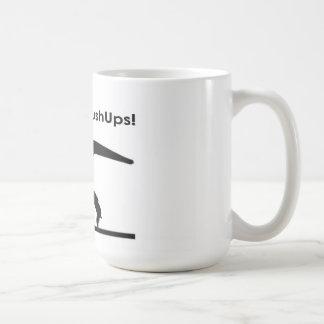 T-Rex Hates Pushups Push ups Humor Funny Coffee Mug