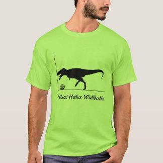 T-Rex Hates Wallballs T-Shirt
