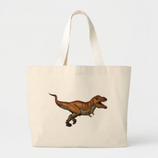 t rex large tote bag